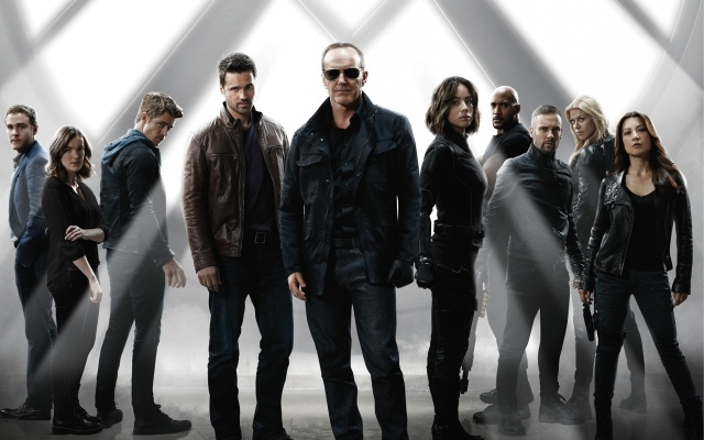 Agents of Shield dynamic group shot