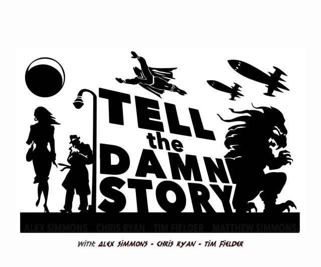 Tell the Damn Story logo w names